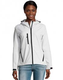 Womens Hooded Softshell Jacket Replay